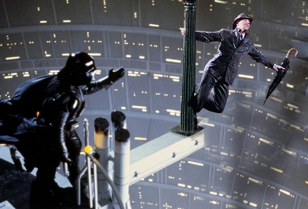 Singing in the Death Star
